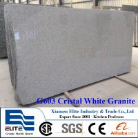 G603 Cristal White Granite Slabs