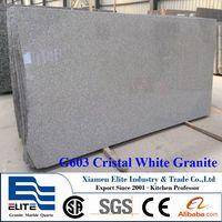 G603 Cristal White Granite Slabs