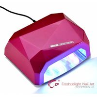 36W CCFL LED Nail Art LED Lamps with Timer 10s 20s 30s