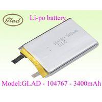 104767 li-ion polymer battery for power bank 3400mAh thumbnail image