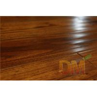 High quality solid teak handscraped wood flooring