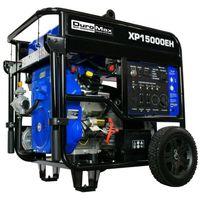 DuroMax XP15000EH 15,000-Watt V-Twin Electric Start Dual Fuel Hybrid Portable Generator thumbnail image