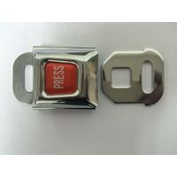 steel stainless airplane seat belt buckle