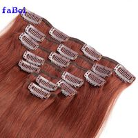 human hair clip in hair extensions for black women,brazilian tape in hair extensions without weft thumbnail image