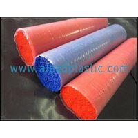 PVC brush fiber
