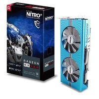 Sapphire Radeon NITRO+ RX 580 8GB GDDR5 DUAL HDMI / DVI-D / DUAL DP w/ backplate SPECIAL EDITION (UE