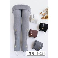 Good quality Breathable Dotted Printed Kids Leggings in Autumn and Winter