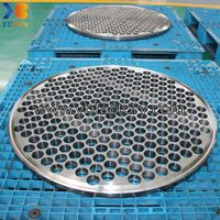 Custom Machined Heat Exchanger Tube Sheet thumbnail image