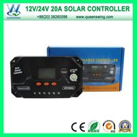 20A 12/24V Auto Intelligent LCD Solar Panel Charge Controller (QWP-VS2024U)
