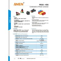 ANEN 5A-350A combination of power connectors