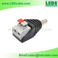 DC Plug to 2 Pin Terminal Adapter with push bottom thumbnail image