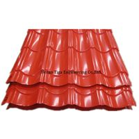 glazed PPGL roof sheet