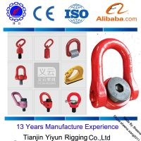 free samples swivel Hoist Ring / Rigging Swivel Eye Bolts / wind generator Swivel Lifting point