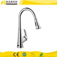 Touch Free Pull Down Kitchen Hot and Cold Sensor Faucet
