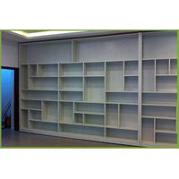 full aluminium mothproof bookcase durable bookshelf