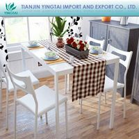 2013 Simple style white space saving dining table with chairs