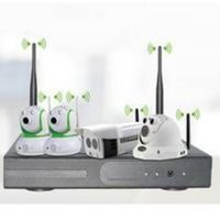 4CH 1080P Wireless NVR kits 5.8GHz