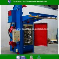 Quality assurance hook type shot blasting/peening machine HQ37 series