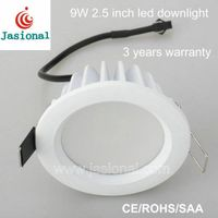 2.5 inch 9w die casting led downlight ceiling light
