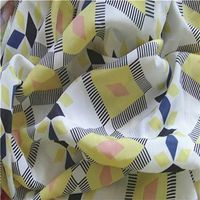 Printed Washed Velvet Fabric, Made of 100% Polyester, Used for Dress/Garments/uniform