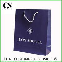 Lamination custom printed packaging cosmetic paper bag thumbnail image
