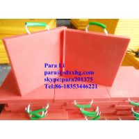 chemical and oil resistant Red crane outrigger pad
