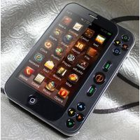 Playgame/game phone with WIFI TV Quad-Bands 2cameral Java