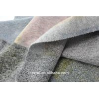 100% wool knit fabric