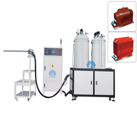 Stable quality vacuum glue filling two component epoxy resin gum glue pouring machine thumbnail image