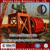 Concrete spun pipe drain pipe cement pipe making machine