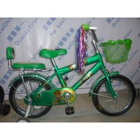 12'' Steel Frame Kids Bike with Backrest thumbnail image