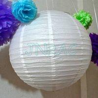 Small Wholesales Order Wedding Chinese Round Paper Lanterns thumbnail image