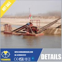 Dreding Machinery for Underwater Minerals Excavating