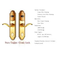 Pure Copper Crown Lock(Security entry door lock)