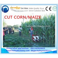 Corn/alfalfa/soybean/mint/jute/kenaf/wheat/maize/chilli/paddy harvester