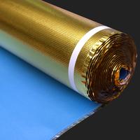 carpet underlay PE with golden film mute flooring underlay thumbnail image