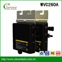 High quality mini solar panel inverter wvc260a 25 years lifetime waterproof ip67
