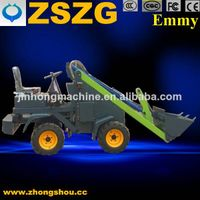 ZSZG electric loader,mini electric loader,wheel loaders
