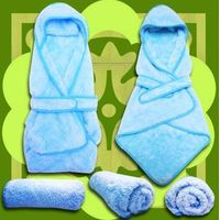 New silky smooth towel_Receiving blanket for Baby ,100% polyester fiber、exquisite、supp thumbnail image