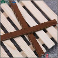 3# Square teeth metal zipper Factory direct zipper quick delivery