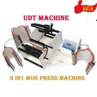 Advanced DIY 3 In 1 Mug Sublimaton Machine Cup press +CE Combo New Mug Press DIY Cup Digital Machine