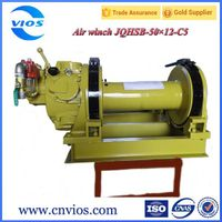 Air winch for lifting/cargo winch