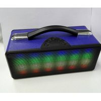 Music Mini Stereo Bluetooth Speaker with colorful LED light and mp3 player