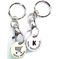 Trolley Token Keychain