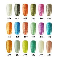 Gelily 18 colors Crystal Sand Gel Polish