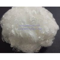 PLA staple fiber, spinning grade