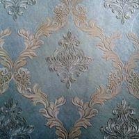 Natural Fibers Embroidery Wallpaper