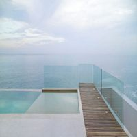 Glass house Tempered toughened glass with high performance