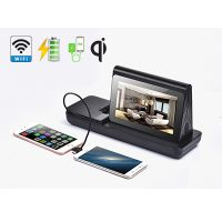 Coffee Shop 7'' LCD Table Advertising Player Mobile Wireless Charging Station FYD838SD thumbnail image