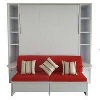 wooden wall bed B15S